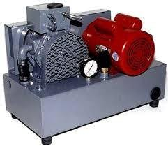 Stationary Condé Vacuum Pump - 2 HP Vacuum pump sold by Bob-White Systems