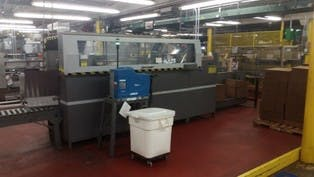 ABC Packaging Model 230 Case Erector  Case erector sold by Beverage Industries