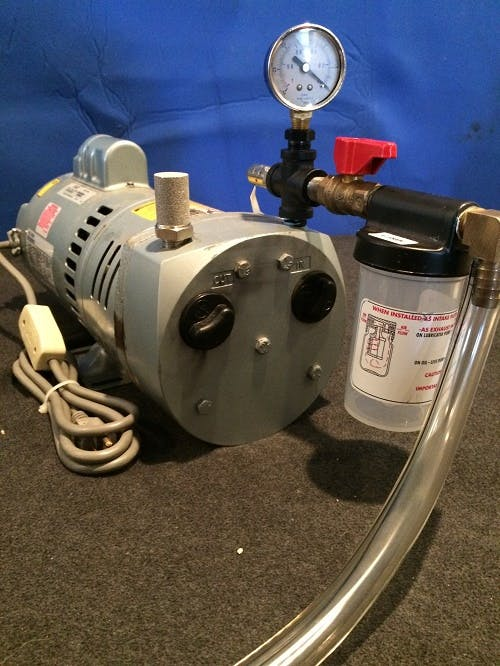 GAST 1/2 HP PORTABLE FULLY REBUILT VACUUM PUMP Vacuum pump sold by Schmitzer Farm Service LLC