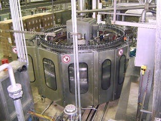 KHS High Speed Juice Filler with Alcoa Capper, Year 2000 - sold by Beverage Industries