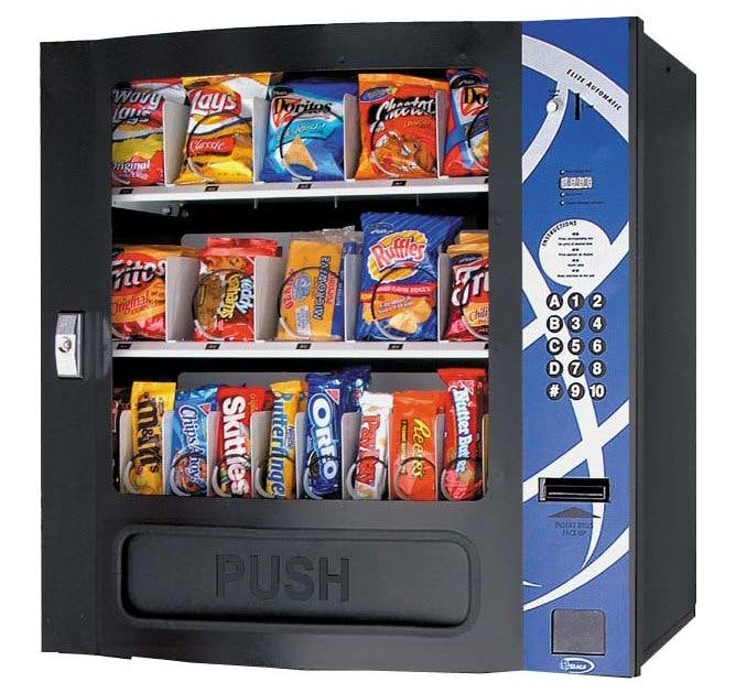 Seaga Compact Snack Machine - HF3000 Vending machine sold by CandyMachines.com