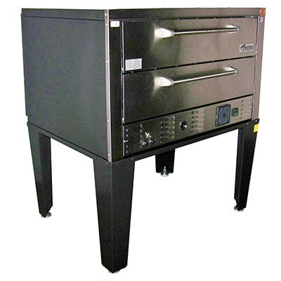 Peerless CE-62PE Double Stack Electric Deck Oven Pizza oven sold by Pizza Solutions