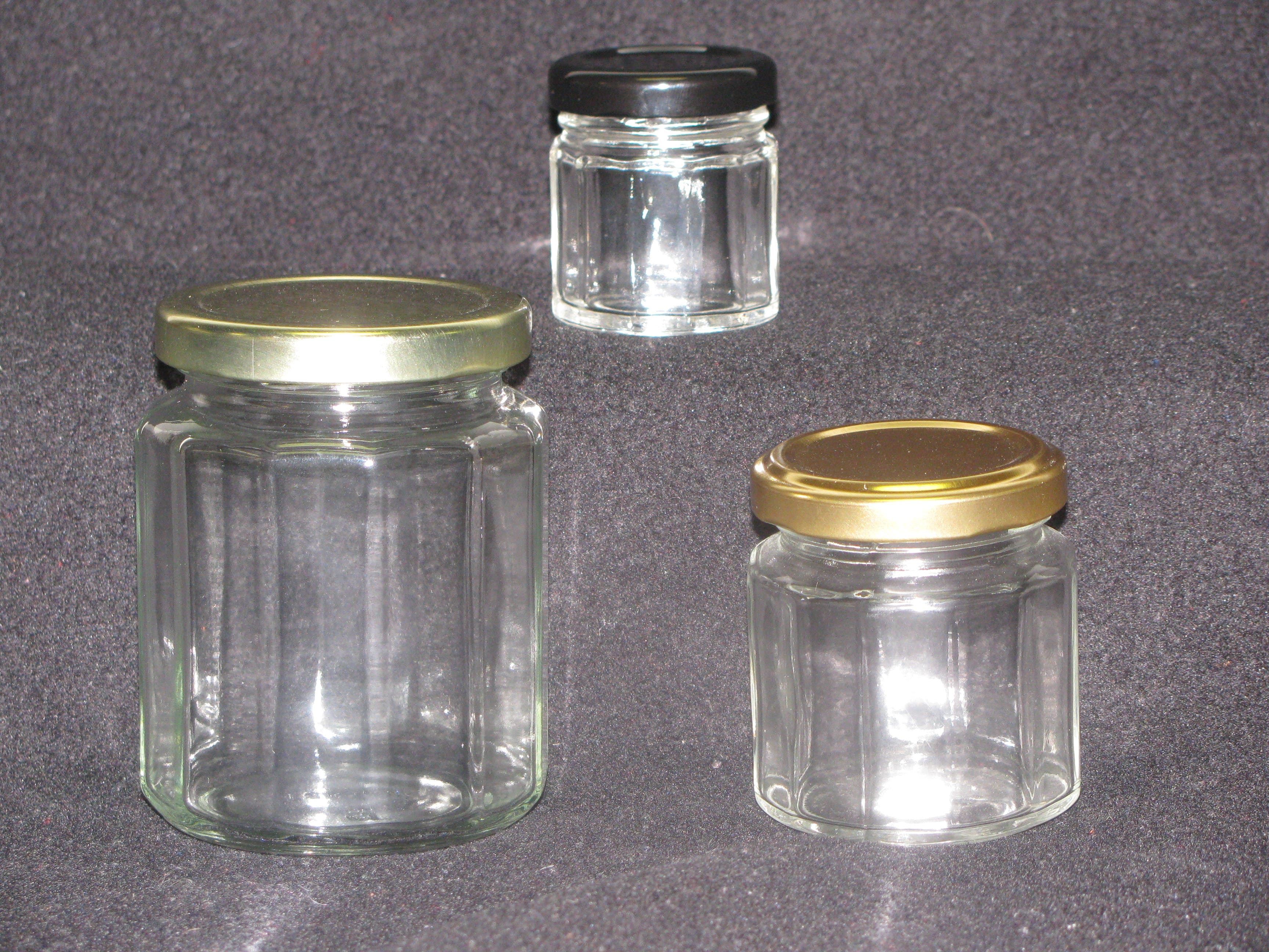 Classic Jars Glass Jar sold by Richards Packaging