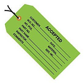 Inspection Tags Name tag sold by Ameripak, Inc.