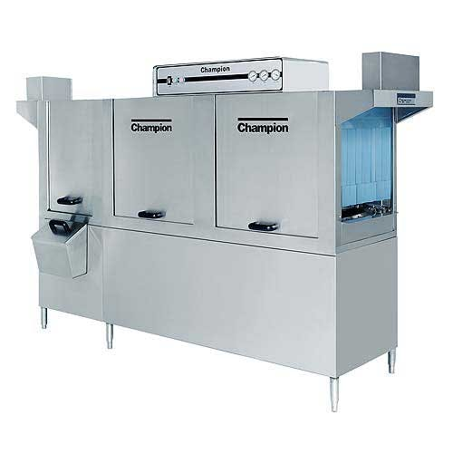 Champion - 106 PW 356 Rack/Hr High Temp Conveyor Dishwasher w/ Prewash Commercial dishwasher sold by Food Service Warehouse