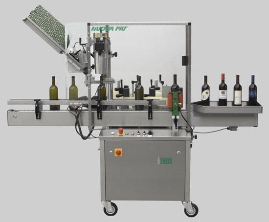 Enos, Nuova Piu  Bottle labeler sold by The Vintner Vault