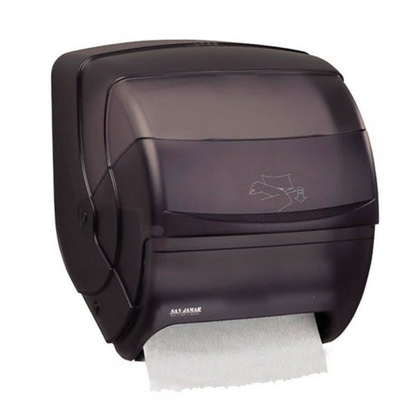 Black Lever Roll Paper Towel Dispenser