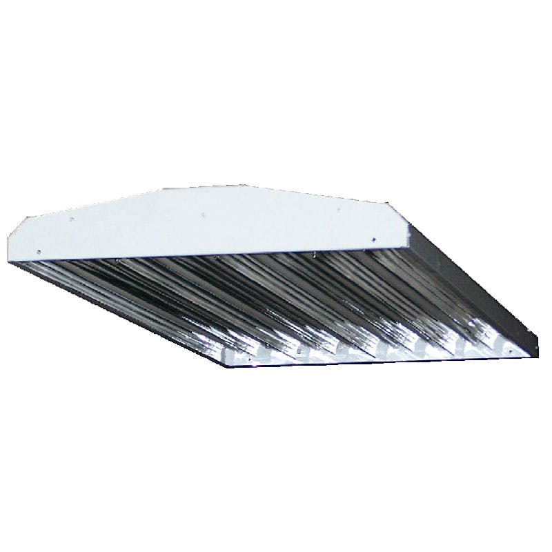 Premium 4 Lamp Steel T5HO Fluorescent Aisleway High Bay - sold by RelightDepot.com