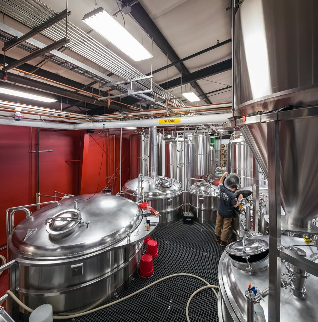 5 Vessel 30 bbl Brewhouse Brewhouse sold by Marks Design and Metalworks