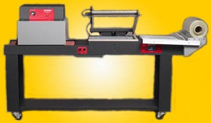 Model 1420 Unitized Combo L-Sealer and Shrink Tunnel Shrink wrapper sold by ATW Manufacturing Co., Inc.