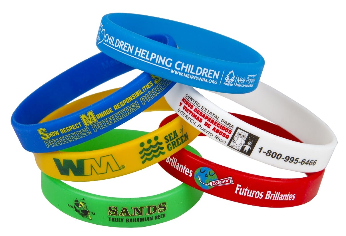 Super Saver Wristband (Item # NCNKM-FOZEN) Promotional wristband sold by InkEasy