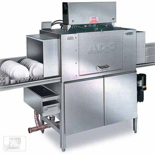 American Dish Service - ADC-44-H 244 Rack/Hr High Temp Conveyor Dishwasher Commercial dishwasher sold by Food Service Warehouse