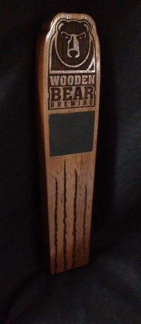 Walnut Tap Handle Tap handle sold by Impressive Prototypes, Llc