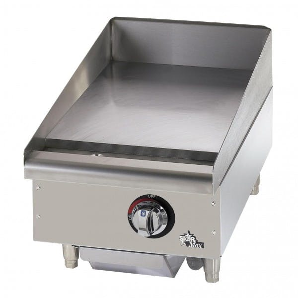 """Star-Max® 15"""" NG Commercial Griddle"""