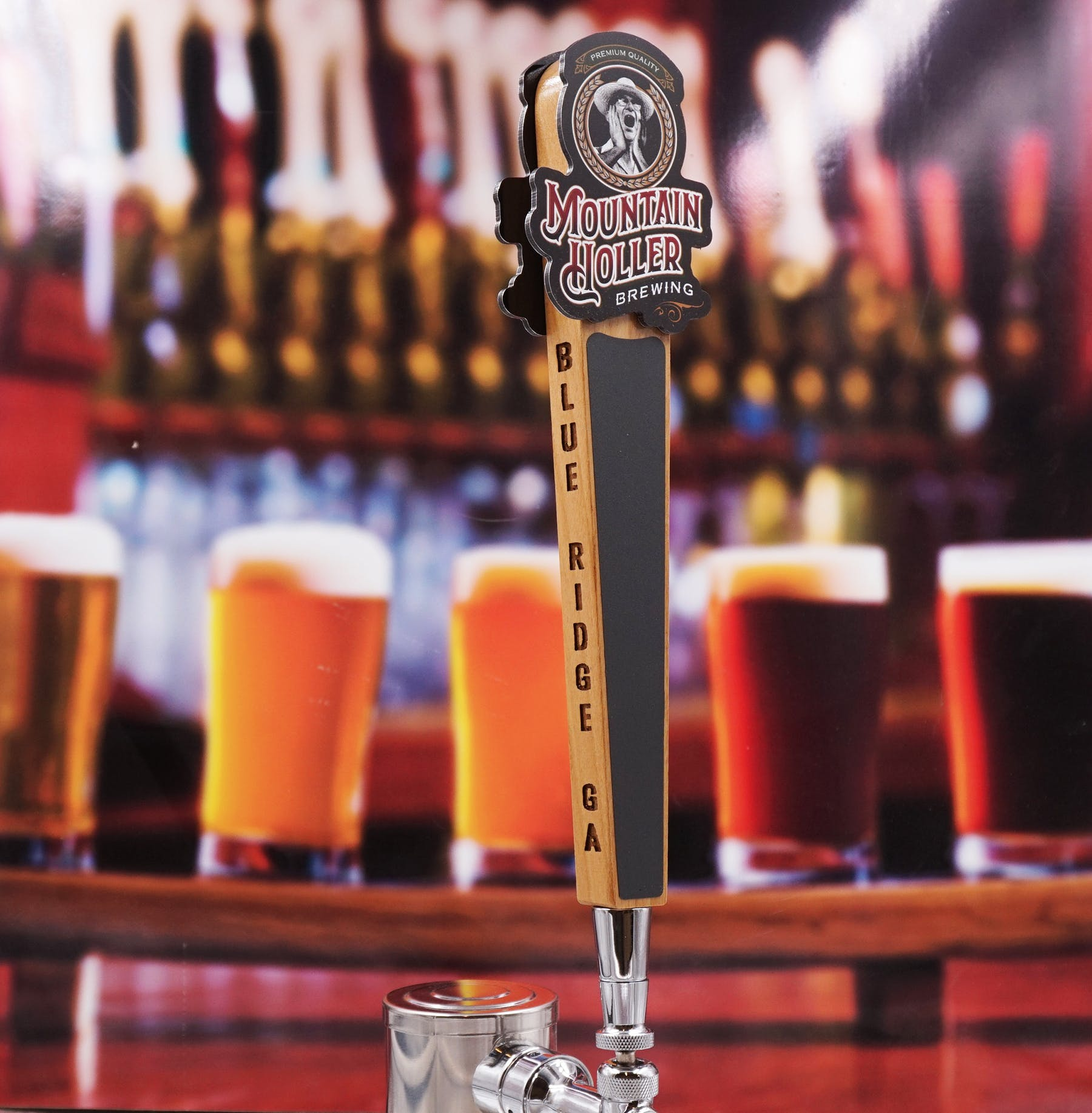 Tall Taps Handles Tap handle sold by Custom Brew Gear