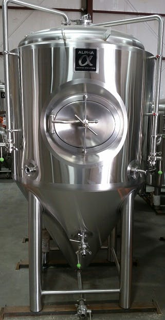 Tanks Brewery tank sold by Alpha Brewing Operations
