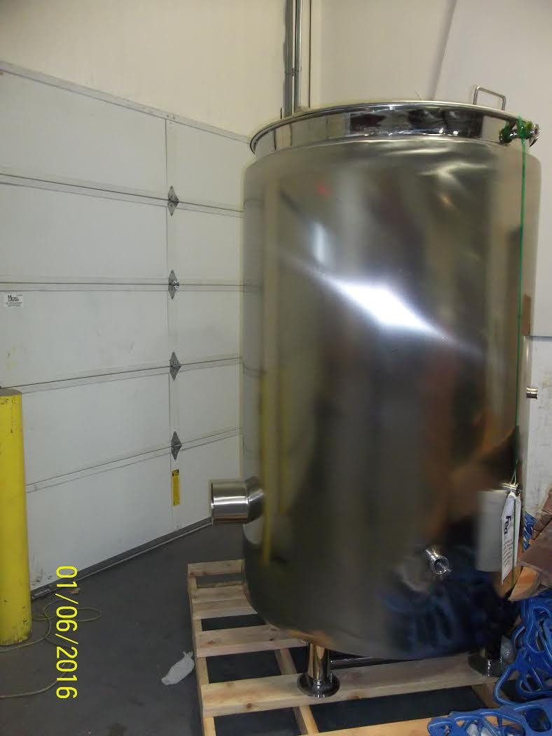 7 bbl Insulated Brew Kettle Brewhouse sold by GLACIER TANKS