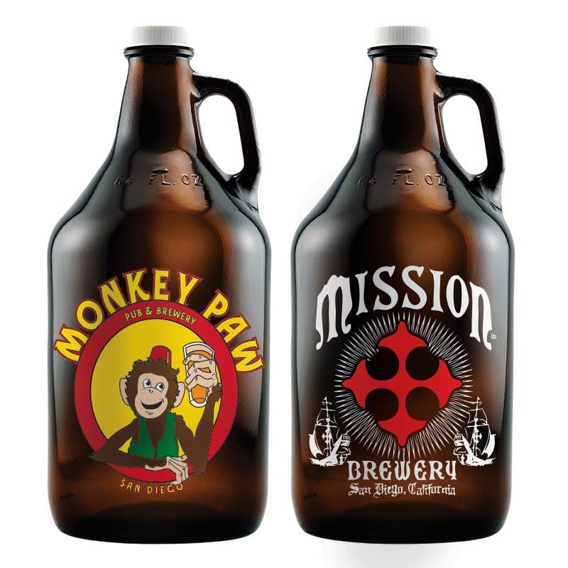 Custom Etched Growlers Growler sold by Etching Expressions