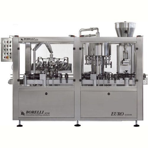 Borelli Euro xp Bottling machinery sold by The Vintner Vault