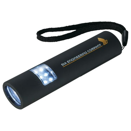 Mini Grip Slim and Bright Magnetic LED Flashlight - 1226-14 - Leeds Promotional flashlight sold by Distrimatics, USA