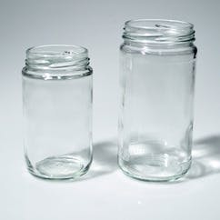 12 oz. Flint Round Glass Straight Sided Bottle (#116364) Glass bottle sold by Berlin Packaging