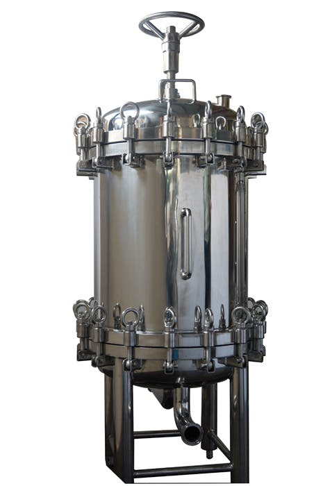 HFI Distillery filtration equipment sold by Heyes Filters Inc.