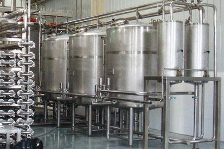 Clean in Place (CIP) CIP system sold by TPS Process Equipment