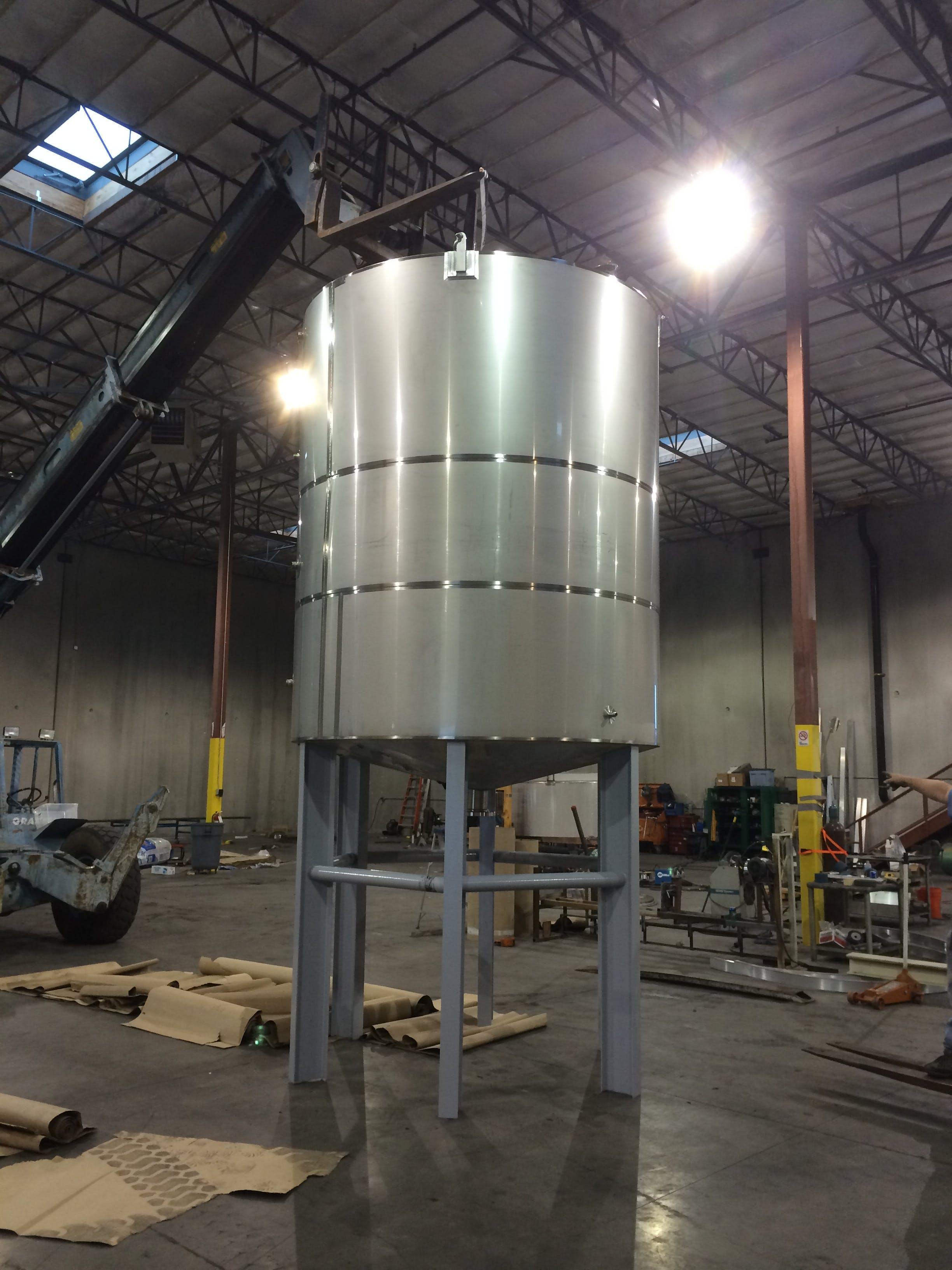 full sweep agitation tank Mixing tank sold by A-Z Stainless