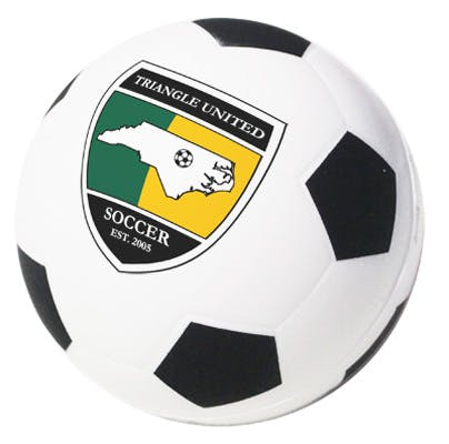 Soccer Ball Stress Reliever (Item # TFIHO-ILHXT) Stress ball sold by InkEasy