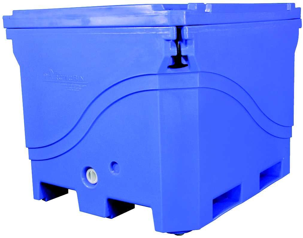 Artic Bin Insulated cooler sold by Smak Plastics Inc