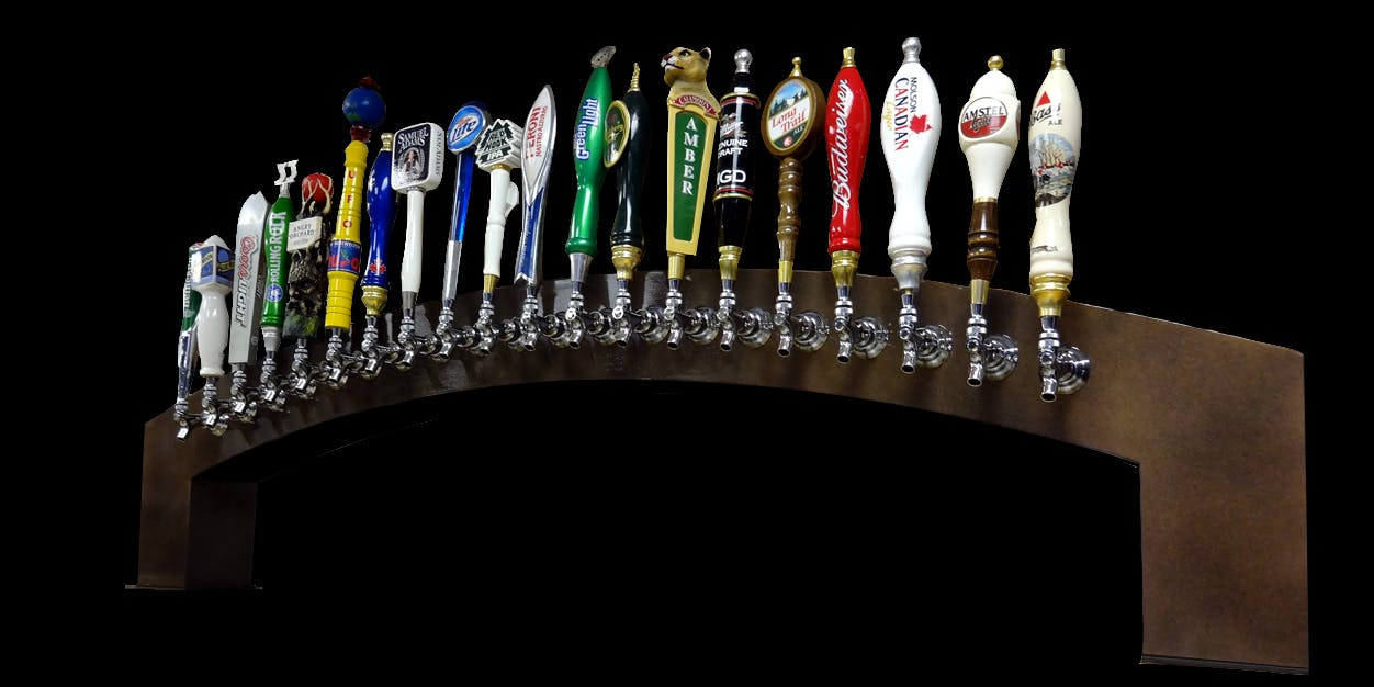 Draft Beer Taps/Towers - sold by Custom Beverage Services