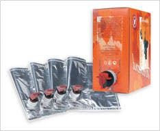 3L and 5L Wine Bags Wine pouch sold by Black Forest Container Systems