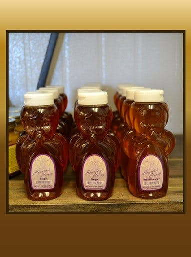 HEAVEN'S HONEY 12OZ - CASE Honey sold by Bennett's Honey Farm