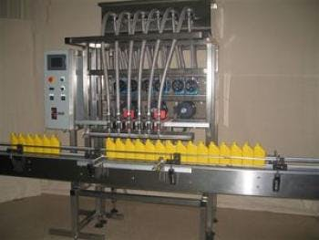 Multi-Head Time Pump Filler Bottle filler sold by MSM Packaging Solutions