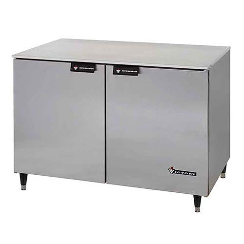 "Victory ( UF-48-SST ) - 48"" Undercounter Freezer w/ Stainless Steel Top Commercial freezer sold by Food Service Warehouse"