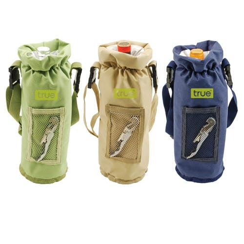 Grab and Go Bottle Carrier (Item # FBLOT-KANGY) Bottle carrier sold by InkEasy