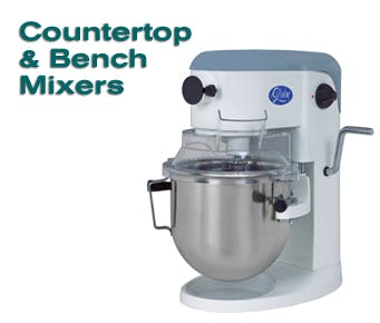Counter Top and Floor Mixers - sold by O'Bannon Food Service Consulting and Equipment Sales