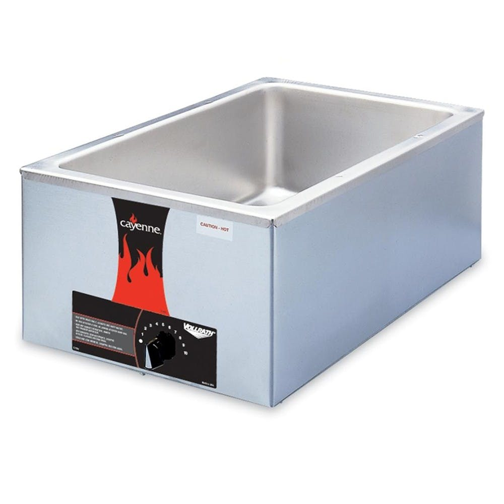 Vollrath 72000 Full Size Food Warmer, Countertop, 1000 Watt, 120v Food warmer sold by Mission Restaurant Supply