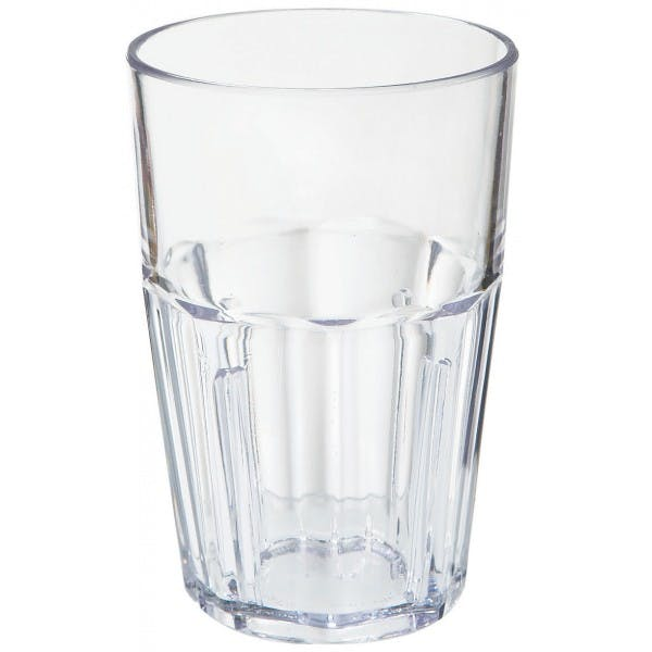 Bahama 10 oz. Clear Plastic Double Rocks Tumbler