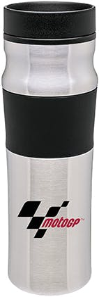 Stainless Steel Travel mug, 16 oz. milo Stainless steel mug sold by Distrimatics, USA