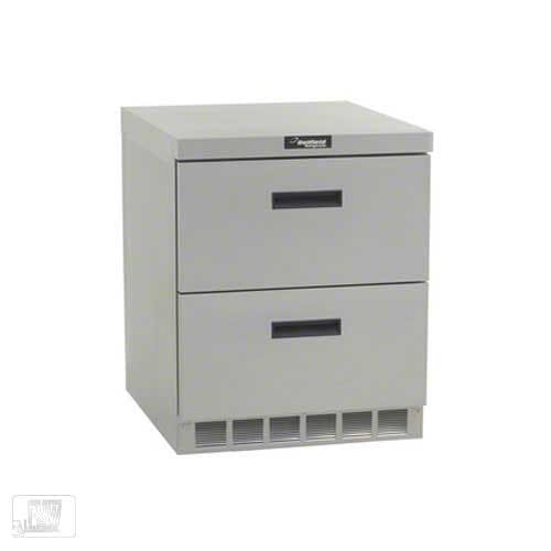 "Delfield - UCD4427N 27"" Undercounter Refrigerator w/ Drawers Commercial refrigerator sold by Food Service Warehouse"