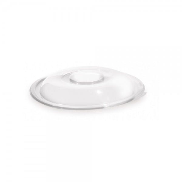 Super Bowl Clear Plastic Lid for 80 oz. Disposable Bowl