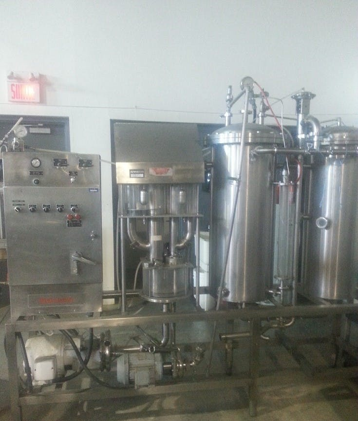 MOJONNIER BROS F Carbocooler + FlowMix Carbonation unit sold by Aevos Equipment