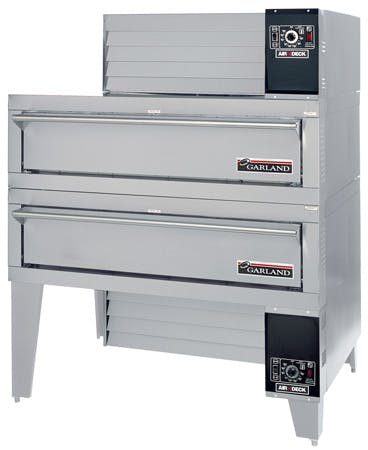 Garland G56PT/B - Double Stack Gas Commercial Pizza Oven Commercial oven sold by Prima Supply