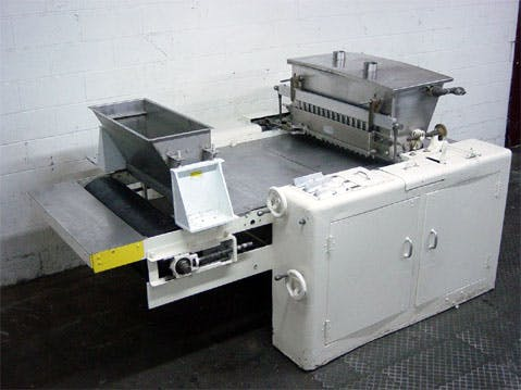 "NATIONAL 32"" DEPOSITOR W/SINGLE ROW PUMP Hard Candy Depositor sold by Union Standard Equipment Co"