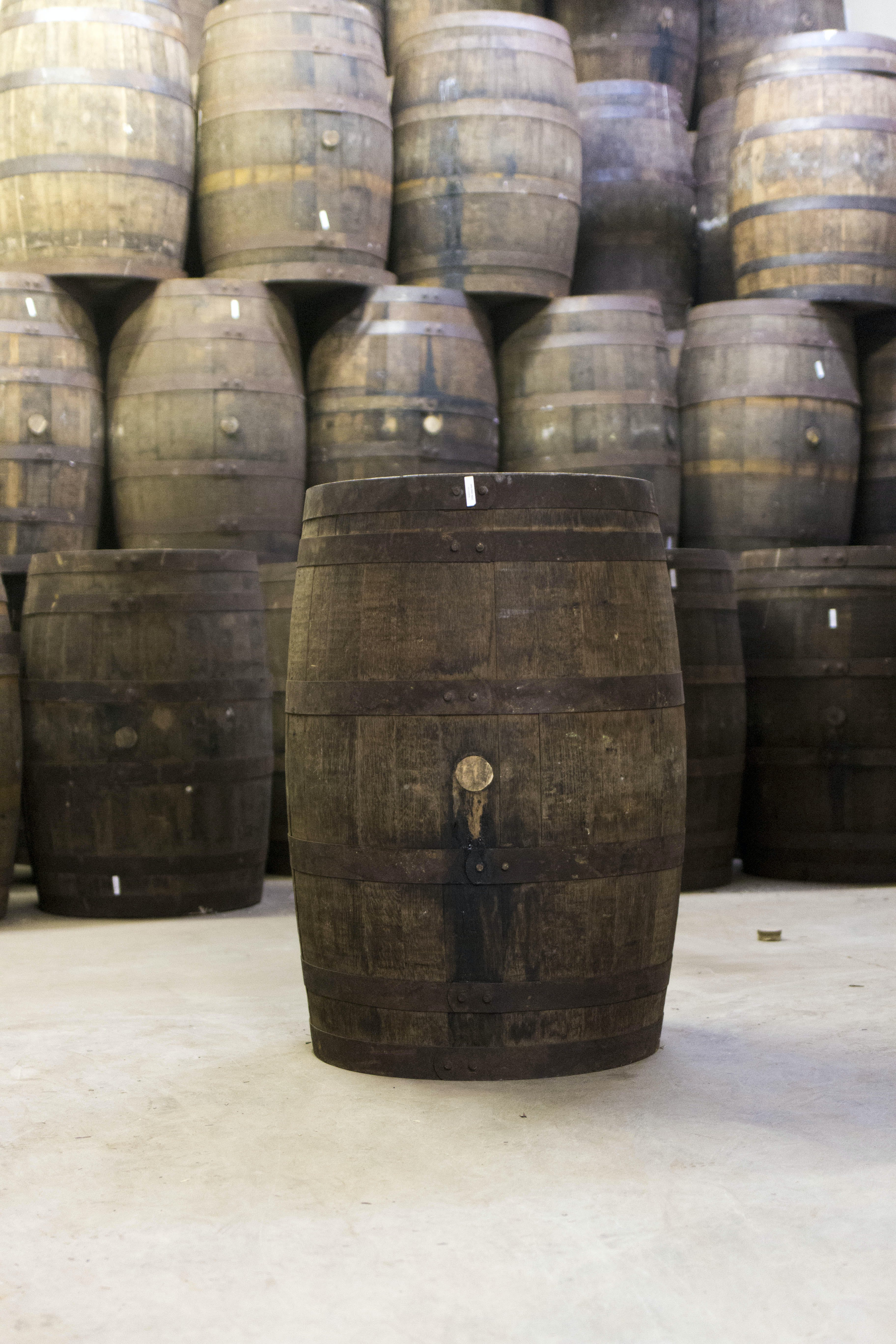 USED Rum Barrels (Imported) Whiskey barrel sold by Rocky Mountain Barrel Company