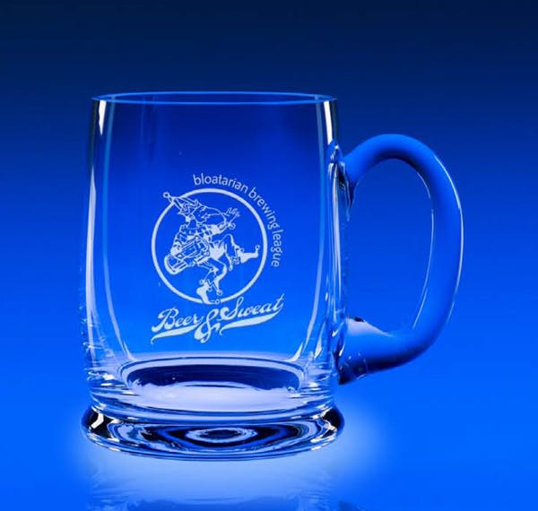 #5021 - 18 oz. Prosit Mug Beer glass sold by Engraving Creations and More, Inc.