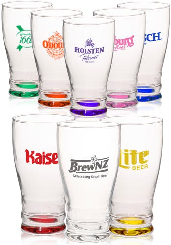 12.2 Oz. Pilsner Glasses (Item # SILLM-ICPZB) Beer glass sold by InkEasy