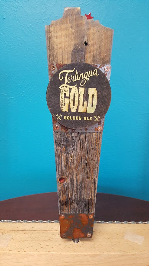 Reclaimed Wood Tap Handle Tap handle sold by ReGeared