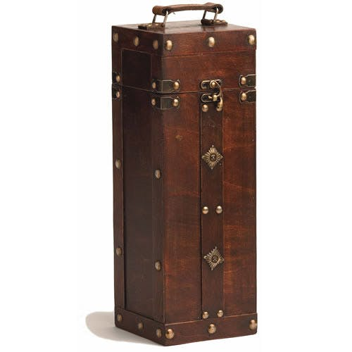 Treasure Chest Wine Box (Item # OCNJT-KAMEC) Wine box sold by InkEasy